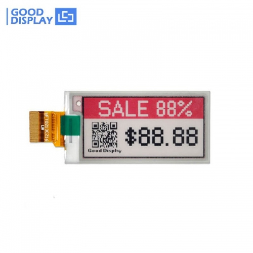 2.13 inch Color red e-ink display epaper screen module buy GDEW0213Z16