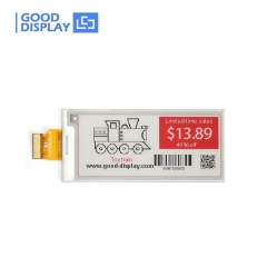 2.9 inch three Color 296x128 SPI interface red e-Paper display module GDEW029Z10