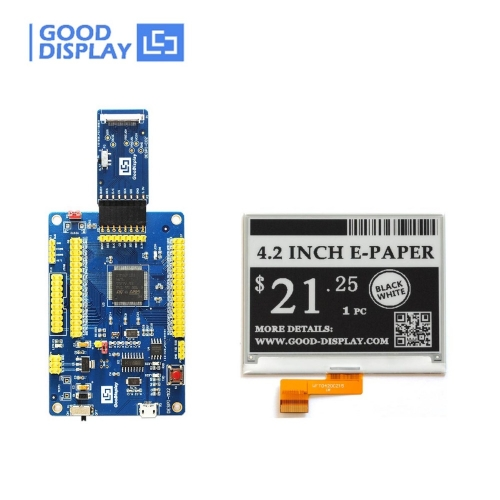 4.2 inch epaper display e-ink screen module with USB port Programmable Demo Kit