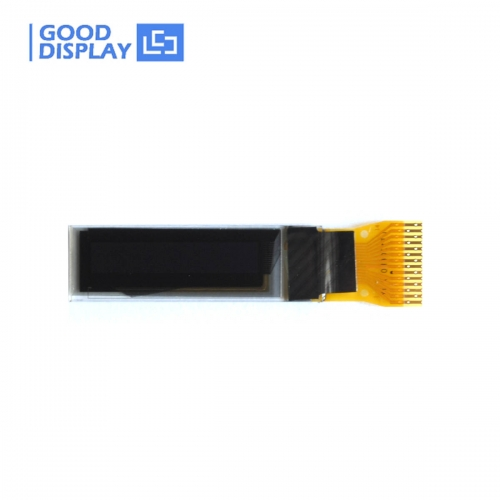 0.69 inch small white 96x16 dots OLED display GDOA0069W
