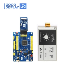 3.71 inch e-paper display GDEW0371W7 with demo board buy eink screen module