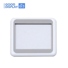 5 pieces 4.2 inch electronic shelf label housing shell case for esl tag accessories white