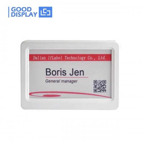 7.5 inch electronic shelf label, For retail, conference and industrial tag double screen