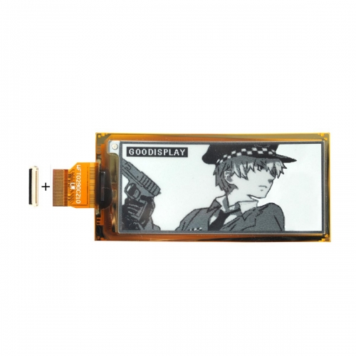 2.9 inch e ink flexible ultra-thin 4 grayscale e-paper display GDEW029I6F