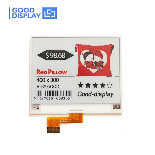 4.2 inch red e-paper display color electronic paper screen module GDEH042Z21