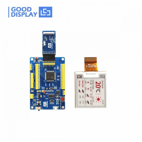 1.54 inch colorful red e-paper display panel with demo kit development driver board, GDEH0154Z90+DESPI
