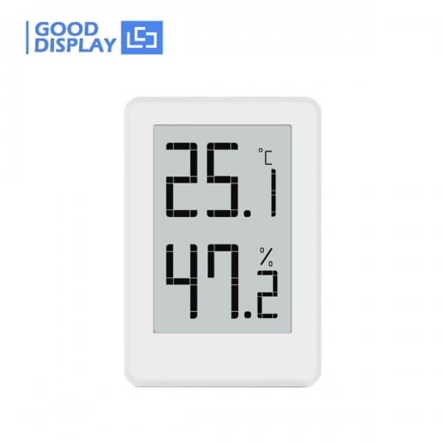 E-paper Display Digital Humidity & Temperature Meter, GDTHT019